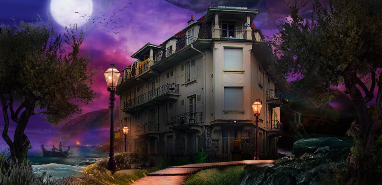 La Maison d'Orphée de nuit