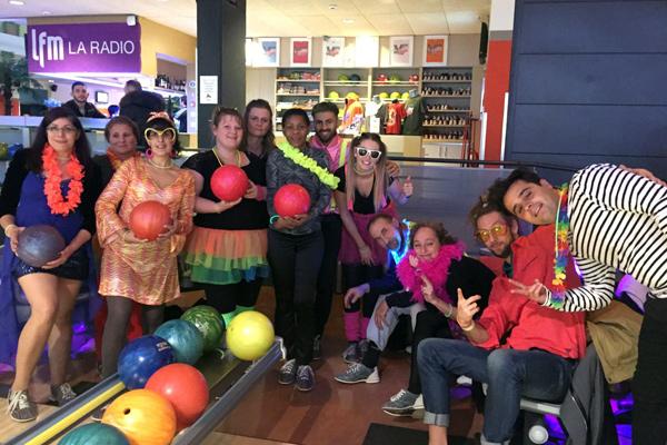 L'équipe LMDO s'amuse 2017 - Bowling