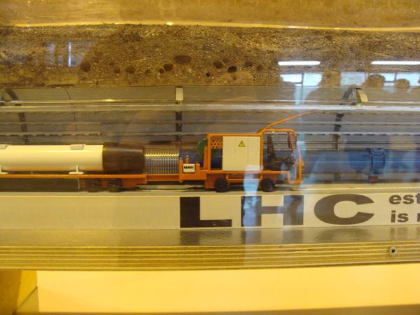 La Maison d'Orphée - Visite du LHC 2013
