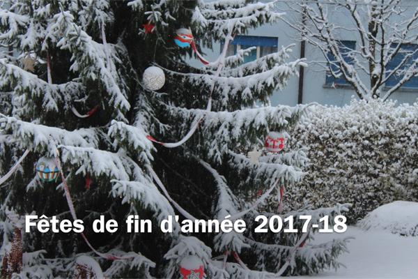 Fêtes de fin d'année 2017-2018 - La Maison Collonges